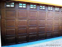 gel stain garage door garage door designs do yourself inspirational how to gel stain a garage