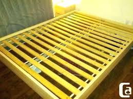 Twin Bed Wood Slats Wood Slats For Queen Beds Twin Bed Slats Twin ...