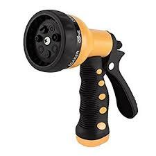 garden hose spray nozzle. Etronic Heavy Duty Garden Hose Nozzle Spray Hand Sprayer N