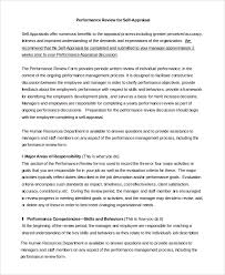 Manager Self Assessment Examples Under Fontanacountryinn Com