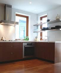 Modern Wooden Kitchen Cabinets Kitchen Walnut Island With Granite Top Dark Wooden Kitchen