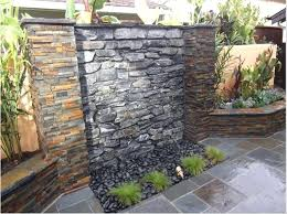 outdoor waterfall am so building one of these this summer stay tuned wall fountains clearance