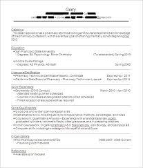 cvs pharmacy resume