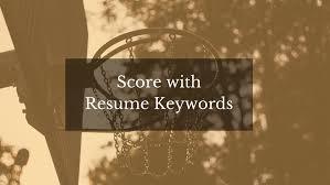 Score With Resume Keywords It's Personal Branding Extraordinary Resume Score