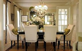 impressive light fixtures dining room ideas dining. Fantastic Tufted Chairs Around Dark Table For Impressive Room With Classic Crystal Dining Chandeliers Light Fixtures Ideas