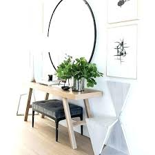 entrance hall furniture round entry table hallway tables uk design ideas