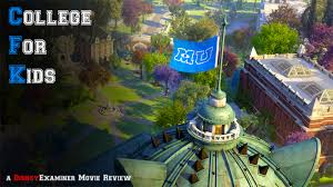 "college for kids a review of disney pixar s ""monsters university  monsters university movie review banner"