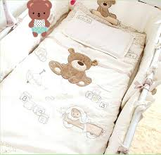 bear bedding sets cotton twill reactive printing duvet cover set without comfortable
