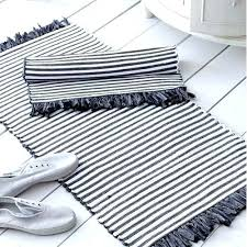 pink and grey striped bath mat gray white rug