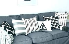 gray couch pillows. Plain Pillows Throw Pillows For Dark Grey Couch Cushions Sofa Striped Black And White  Medium Size Of Decoration   For Gray Couch Pillows