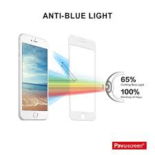 Blue Light Blocking Ipad Screen Protector Pavoscreen Phone Screen Filter For Iphone 6 6s Tempered