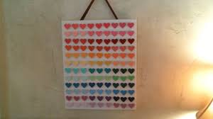 preferred diy 3d paint chip wall art incredibly inexpensive you regarding paint swatch