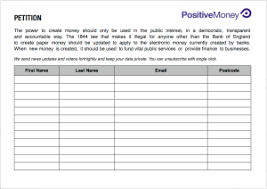 Template For Petition Petition Template Write A Petition