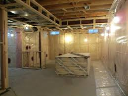 drywall a basement i have finished framing under the low duct area and it has been drywall a basement