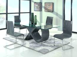 interior design small glass dining table contemporary tables sets large