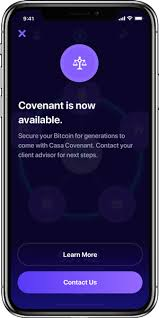 Casa app is the best way to secure your bitcoin. Casa Covenant Bitcoin Inheritance Service And Protocol