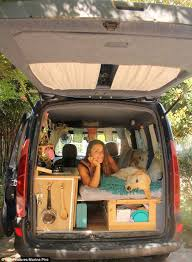 and easy diy mini van camper conversion 7