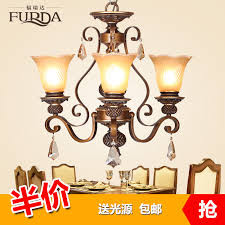 get ations freda european resin chandeliers bedroom living room dining lamp american rural countryside archaized chandeliers m01