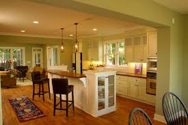 Astonishing Open Floor Plan Furniture Layout Ideas For Your Inspiration :  Extraordinary Design Using White Wooden ...