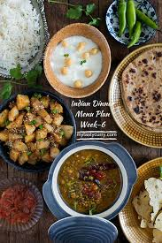 Indian Meal Plan Week 6 Breakfast Lunch And Dinner Plan