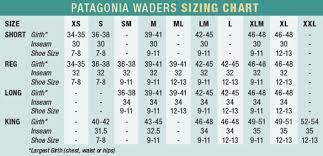 Airflo Waders Size Chart Patagonia 40 Off Patagonia Rio Azul Stockingfoot Waders