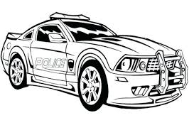 Car Colouring Pages Printables Race Coloring Sheets Muscle 1
