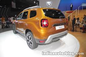 2018 renault duster south africa. interesting duster 2018 dacia duster rear three quarters at iaa 2017 to renault duster south africa u