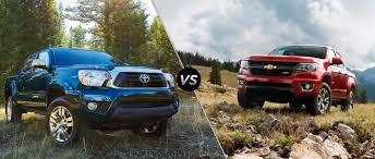 2015 Toyota Tacoma vs 2015 Chevy Colorado