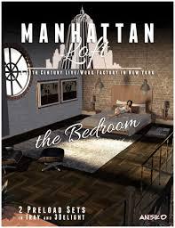 Manhattan Bedroom Furniture Manhattan Loft Bedroom Expansion 3d Models And 3d Software By