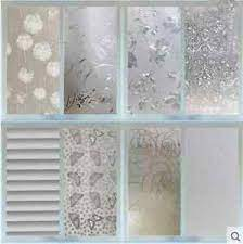 2m X 45cm Window Door Privacy Film Room Bathroom Home Glass Sticker Pvc Frosted Ebay