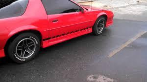 1991 Chevrolet Camaro RS Targa BURNOUT - YouTube