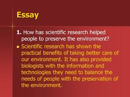 "directed reading ""biology in your world"" ppt video online  essay 1 how has scientific research helped people to preserve the environment"