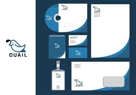 Simple Art Images amp; Stock Corporate - Vector Template Identity Quail Download Graphics Free