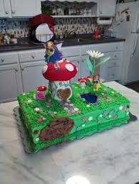 Small Picture My fairy garden cake cakes and such Pinterest Gardens Fairy