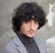 Long Hair Style Men long hairstyle with curls for men 6915 by wearticles.com