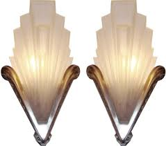 fixtures stainless steel sample mirrored art deco wall sconces awesome remarkable white wallpaper bulb inside