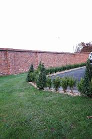 Small Picture Box Hedge Garden Design in Shropshire Garden Hedge Planting