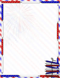 stationary template for word patriotic stationery themes page 1
