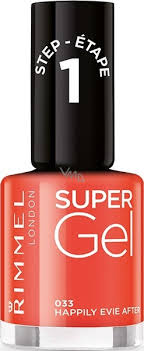 Rimmel London Super Gel Lak Na Nehty 033 Happily Evie After 12 Ml