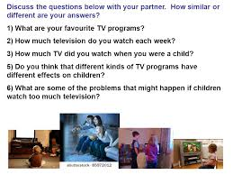 what s the topic of our essay ppt 1 what are your favourite tv programs