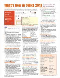 Whats A Personal Reference Buy Whats New In Microsoft Office 2013 From 2007 Quick