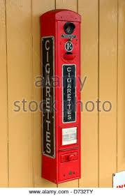 Vintage Cigarette Vending Machine Impressive Vintage Cigarette Vending Machine Stock Photo 48 Alamy