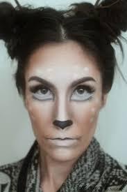 makeup deer doe eyes antlers forest