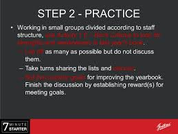 staff structure step learn today we will look at step 2 practice working in small groups divided according to staff structure use activity