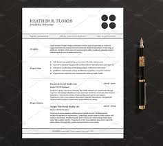 Resume Templates Free 3 Pages Resume Cv Template Full Set Resume