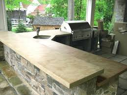 countertops for outdoor kitchens outdoor brown concrete kitchen traditional patio granite tile countertop outdoor kitchen