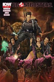 ghostbusters 2 reprint cover by t rexjones