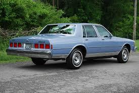 1984 Chevrolet Caprice Classic in Light Royal Blue Poly. 5.0L V-8 ...