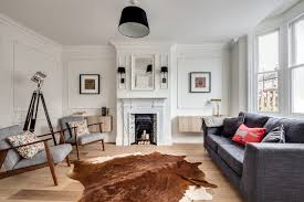 ikea cowhide rug living room scandinavian with animal skin black and cowhide rug ikea