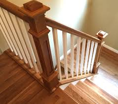 wood stair railings and banisters 12